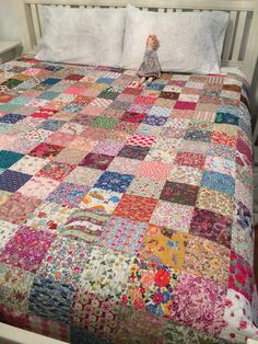Liberty Lawn Charm Square Quilt by daniellegt on Etsy, $2200.00