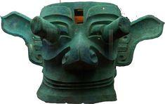 Bronze head from Sanxingdui, China