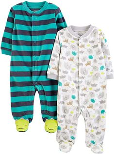 Cakes Unisex Long Sleeve Baby Gown Baby Bodysuit Unionsuit Footed Pajamas Romper Jumpsuit