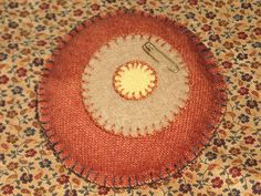 Wool pin cushion