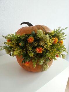 IMAGE.....loving this idea....use a faux pumpkin...