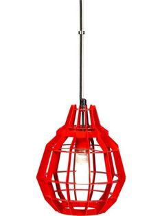 Cage Fuel Pendant Lamp, $149, CB2