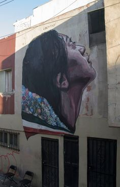 """Metaphor For Freedom"", a new mural by Ever in Tijuana, Mexico"