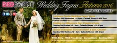 Exhibit at Red Event's Autumn North West Wedding Fayres!
