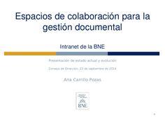 Biblioteca Nacional-sistema de gestión Alfresco