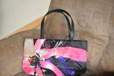 Floral Shoulder Bag. $25.00, via Etsy.