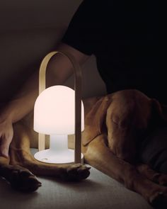 Take the Marset FollowMe Lamp with you wherever you go