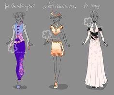 Custom Outfits #9 by Nahemii-san