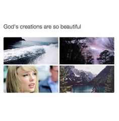if you think about it God did make Taylor and you and me and every one. So can I say that I am related to Taylor Swift through the blood of Christ and creation of God ; Taylor Swift Funny, Taylor Alison Swift, Live Taylor, Taylors, Role Models, Selena Gomez, My Idol, Love Her, Queens