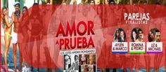 #AmorAPrueba La gran #Final el '14 de Mayo' y para ello estarán presentes #Marco y #Aylén #Pedro y #Romina y #Liz y #Michael como finalista. #showbiztv_es #blastingnews_es