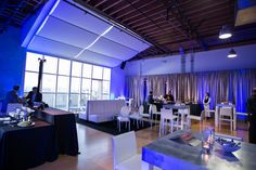 Silver Drape.  Got Light specializes in sheer draping, velvets, and custom fabrics for special events.