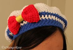 Sailor Moon Slouchy Beret Hat Pattern