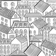 Kleurplaten Voor Volwassenen Stad.347 Beste Afbeeldingen Van Kleurplaten Voor Volwassenen Coloring