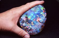 This Boulder Opal is named 'The Galaxy' and is possibly the finest Boulder ever found. It weighs a staggering 2600 carats.