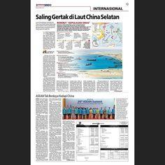 Berebut Kepulauan Emas 27 April 2015 . . . . . #newspaper #newspage #newspagedesign #newspagedesigner #societynewsdesign #snd #newsdesign #infographic #graphic #design #graphicdesign #printdesign #koransindo #indonesia #infografis #grafis