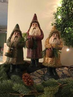 Christmas Time, Christmas Ideas, Christmas Crafts, Merry Christmas, Christmas Decorations, Holiday Decor, Primitive Christmas, Vintage Christmas, Primitive Santa