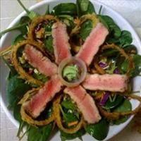 Asian Sesame Salad with Seared Ahi Tuna