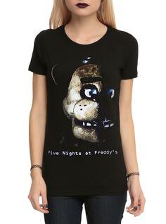 Five Nights At Freddy's Freddy Fazbear Girls T-Shirt | Hot Topic