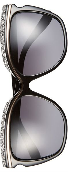 58mm Retro Sunnies by Jimmy Choo