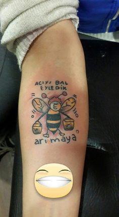 arı dövmesi arı maya