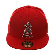 promo code 59980 a3b5c New Era 59Fifty Los Angeles Angels Metal Thread Hat - Red,  24.98 -  15.01  Angels