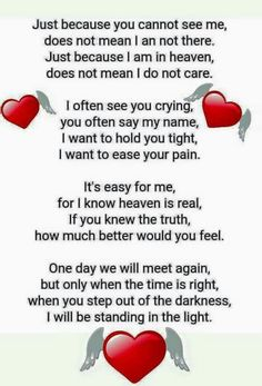 Can't wait to see both of you in Heaven Missing My Husband, Missing Brother, Mom I Miss You, Letter From Heaven, Funeral Poems, Funeral Messages, Funeral Prayers, Dad In Heaven, Mom Quotes From Daughter