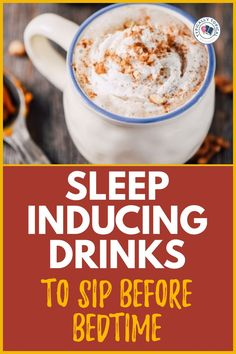 Sleep Drink, Sleep Tea, How To Sleep Faster, How To Get Sleep, Sleep Better, Natural Sleep Remedies, Natural Sleep Aids, Food To Help Sleep, Easy To Digest Foods