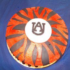 Auburn bday cake