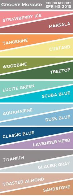 #Color #scheme for #spring.