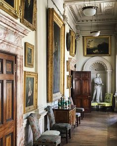 Gosford House is also home to a magnificent art collection, including works by Botticelli, Murillo, Rubens, and other masters.
