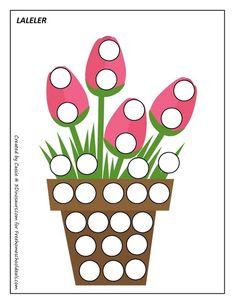 cheznounoucricri - Page 39 Montessori Activities, Toddler Activities, Coloring Books, Coloring Pages, Flannel Board Stories, Lacing Cards, Do A Dot, Spring Activities, Kids Corner