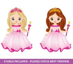 Free Beautiful Princess Cliparts, Download Free Clip Art, Free Clip Art on  Clipart Library