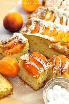 Ciasto jogurtowe z morelami \Йогуртовый пирог с абрикосами