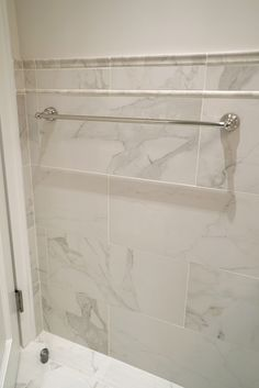 Little Touch Of Accent Wall Liner Adds More Depth And Texture To This  Transitional Bathroom Renovation