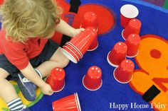 Teaching Colors - Red - Happy Home Fairy Preschool Colors, Teaching Colors, Preschool Crafts, Preschool Ideas, Craft Ideas, Toddler Learning Activities, Color Activities, Red Week, Happy Home Fairy
