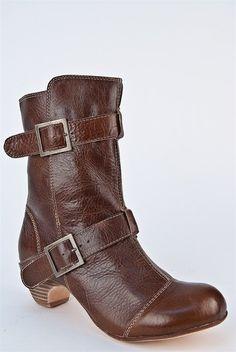 Vintage Brown Booties