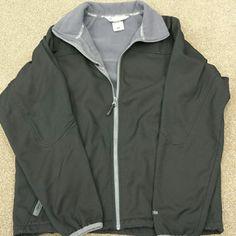 Mens black Columbia Mens size large black Zipp up Columbia jacket Columbia  Jackets & Coats