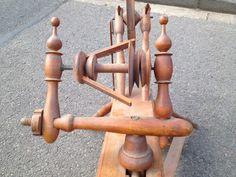 Altes Spinnrad von 1948 aus Erbschaft, Holz, super Deko in Niedersachsen - Burgwedel   Kunst und Antiquitäten gebraucht kaufen   eBay Kleinanzeigen