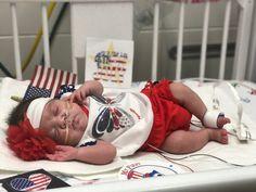 NICU nurses help hospital's tiniest patients celebrate 4th of July | WGN-TV