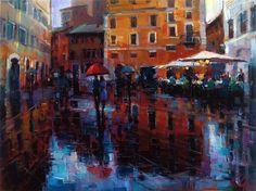 Michael Flohr, Romance in The Rain