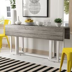 Adams Dining Table - Locolow The Best Online Deals Hand Curated and Brought to You Daily. Foldable Dining Table, Trestle Dining Tables, Counter Height Dining Table, Solid Wood Dining Table, Dining Table In Kitchen, Extendable Dining Table, Table And Chairs, Dining Room, Bar Counter