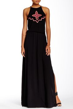 Embroidered Maxi Dress by Green Dragon on @HauteLook