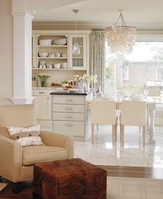 Sarah Richardson's Glamorous Kitchen Design // photo Stacey Brandford // House & Home June 2007 issue