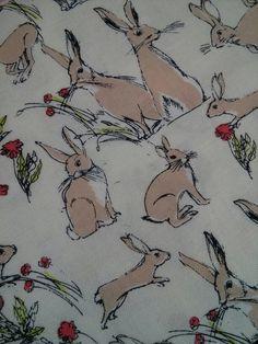Rabbits & Hares by Inprint @ Makower 50cm x 112cm £6