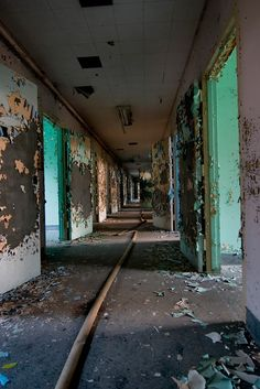 Photo of Central Islip State Hospital by Tom Kirsch / opacity.us