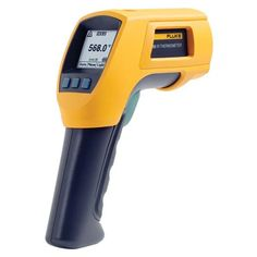 The Fluke 568 Infrared Thermometer is a combination contact and non-contact thermometer in one and offers a wider temperature range than most other infrared thermometers