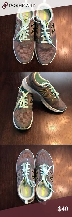 Women's New Balance tennis shoes Women's New Balance tennis shoes. Gray and mint. Size 10. Excellent condition. Worn only a few times New Balance Shoes Athletic Shoes