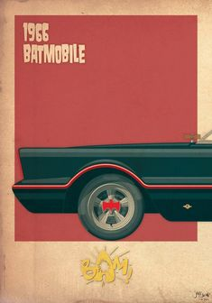 Jakob Staermosedesigned 3 tryptics to the glory of 2 of the most iconic vehicules ever : Ecto 1 and the Batmobile ! Jakob Staermosea designé ces 3 tryptiques à la gloire de 2 des plus iconiques d…