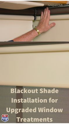 In this step-by-step video lesson, RV repair and maintenance expert Dave Solberg walks you through a demonstration blackout shade installation. He completes the demo on a 2003 Winnebago Brave, which was in need of some updated window treatments as an alternative to its old pleated blinds. Many RVers nowadays are turning to blinds and shades used on residential windows, most of which are well suited to RV windows. Rv Windows, Windshield Shade, Rv Videos, Residential Windows, Blackout Shades, Fifth Wheel Trailers, Rv Interior, Rv Trailers, Shades Blinds