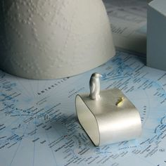 EILEEN GATT JEWELLERY / Antarctic Supper Napkin Ring